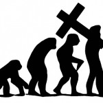 evolution into atheism