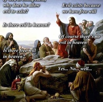 no free will in heaven