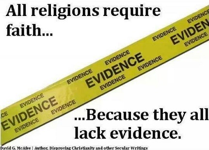 understanding atheism - its all about evidence