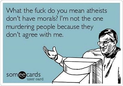 can atheists live moral lives 7